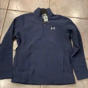 Under armor men's 3/4 zip pullover